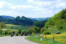 Motorradtour mit dem Chef vom Motorradhotel Sauerland