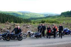 Tour zum Biker Oktoberfest im Motoradhotel